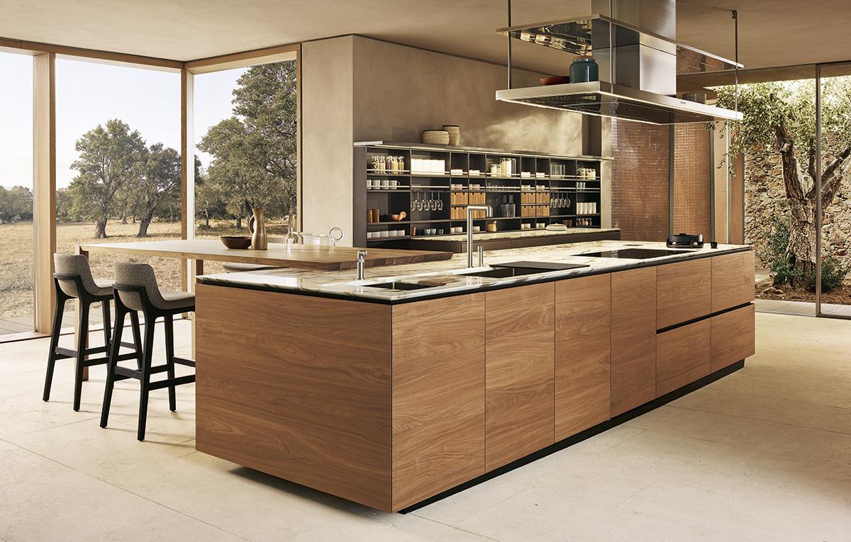 Эксклюзивная кухня Artex от бренда Poliform