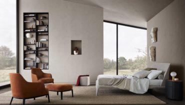 Kelly – изысканная коллекция мебели для спальни от Poliform