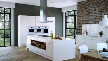 Максимальная свобода в дизайне кухонного интерьера от Küppersbusch