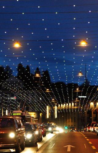 Уличное освещение в TOP OBJECT