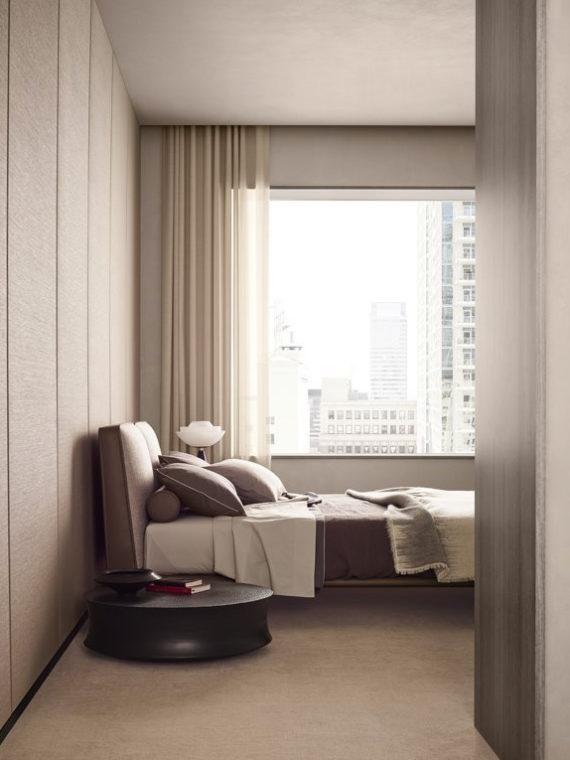 Кровать, стильная кровать, дизайнерская кровать, мебель для спальни, итальянская мебель, итальянский стиль, мебель из Италии, современный стиль, современная мебель, дизайн интерьера, купить кровать, купить кровать Калининград, современный интерьер, стиль минимализм, спальня в стиле минимализм, стильная спальня, Poliform, Poliform Park Uno, кровать с чехлами