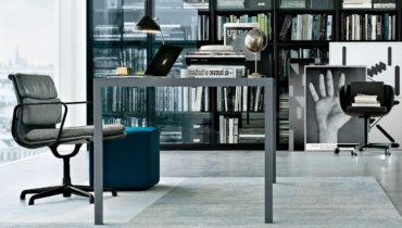 Столы для офиса премиум-класса от итальянского бренда Poliform