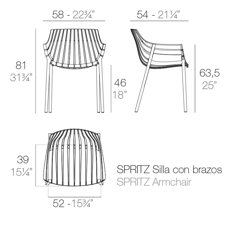 Испанская мебель, мебель из Испании, испанский стиль, испанский дизайн,Уличное кресло Vondom Spritz, мебель Vondom, кресло Vondom, Купить уличное кресло в Калининграде, дизайнерское кресло, стильное кресло, дизайн интерьера, дизайн интерьера Калининград, купить мебель в Калининграде, современный стиль, современная мебель, дизайн экстерьера, купить дизайнерское кресло в Калининграде, уличная мебель Калининград, кресло для террасы, кресло для сада Калининград, кресло во двор Калининград, ландшафтный дизайн