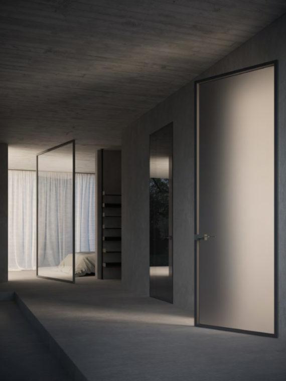 Межкомнатные двери, двери Калининград, купить дверь в Калининграде, стильные двери, дизайнерские двери, итальянские двери, двери из Италии, ADL, дизайн интерьера, современный интерьер, стиль минимализм, стеклянные двери, стеклянные двери Калининград, скрытая стеклянная дверь, adl style