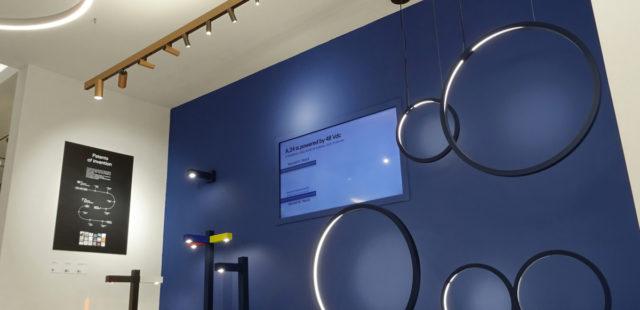 Светильники Artemide на выставке в Шанхае