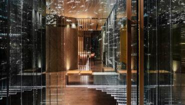 Японский ресторан от Poliform, удостоенный звезды Мишлен