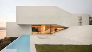 Дизайн виллы Casa Mi на берегу Цюрихского озера от Poliform, Швейцария