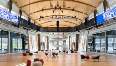 Освещение Artemide в офисе IBM Studios в центре Милана