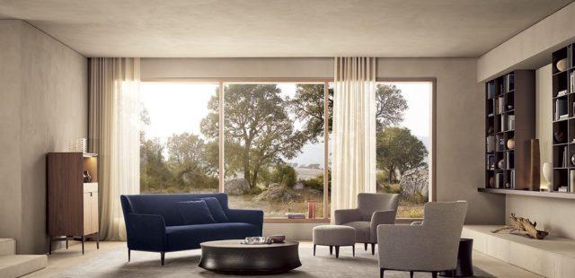 Новая коллекция мягкой мебели Gentleman от Poliform