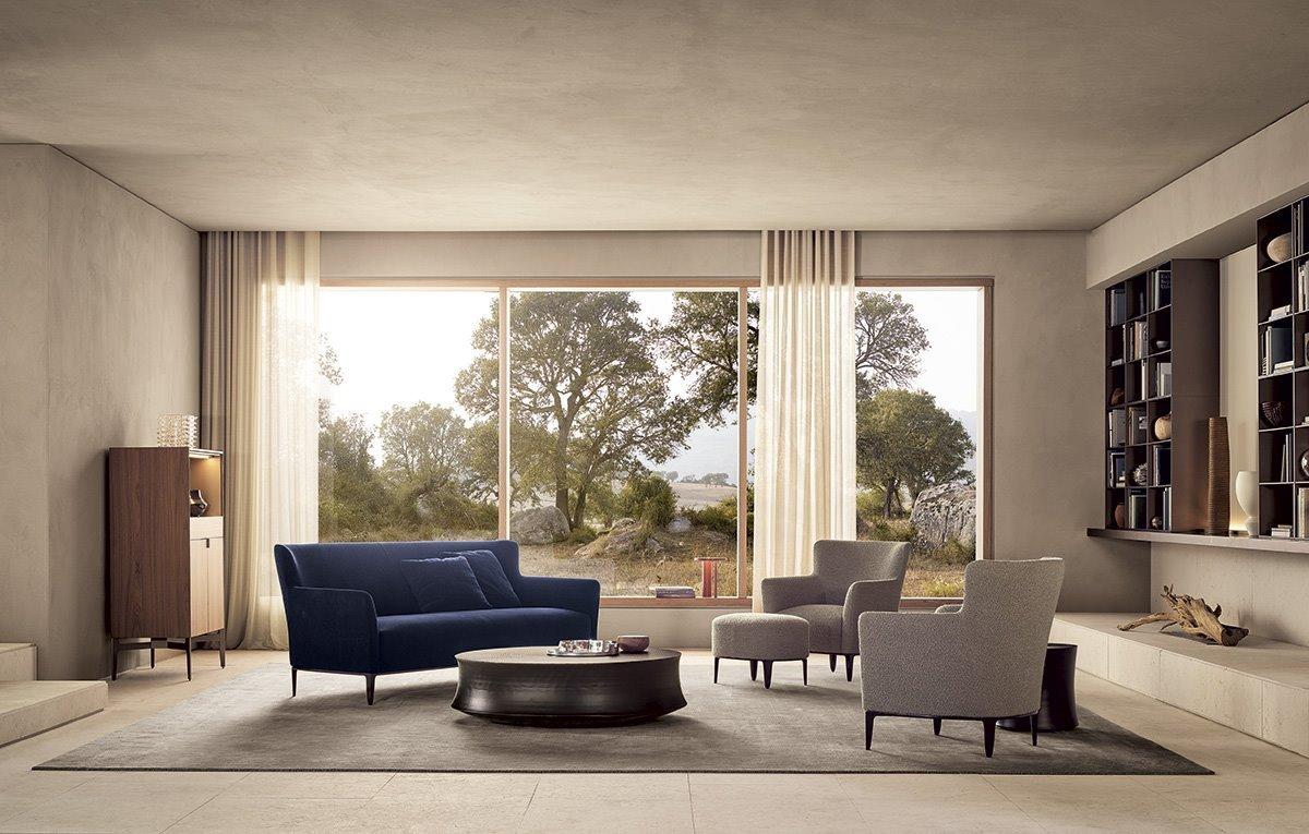 Poliform, мебель Poliform, мебель 2020, дизайнерский интерьер, интерьерные решения, topobject, top object, итальянская мебель, современный интерьер, Poliform Калининград, мягкая мебель Калининград, кресла Калининград, диван Калининград, мягкие кресла, купить кресла, купить диван, дизайнерская мебель, мебель в гостиную