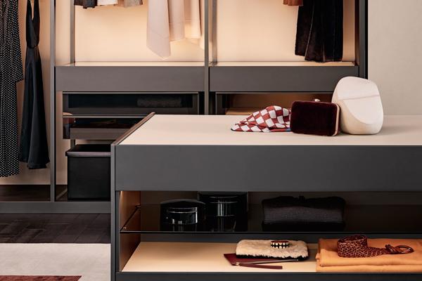Гардеробная система Калининград, гардероб на заказ, гардеробный шкаф Калининград, Poliform Калининград