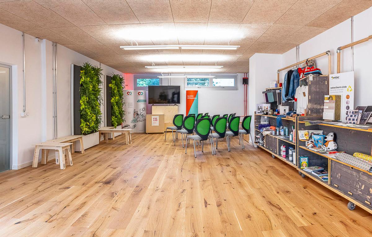 Экологичные ковровые покрытия Desso в офисе C2C Lab, Берлин