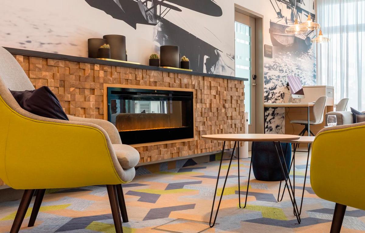 Ковровое покрытие Desso в отеле Courtyard by Marriott, Гильхинг (Германия)