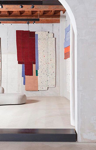 3D-тур по выставочному залу бренда cc-tapis в Милане