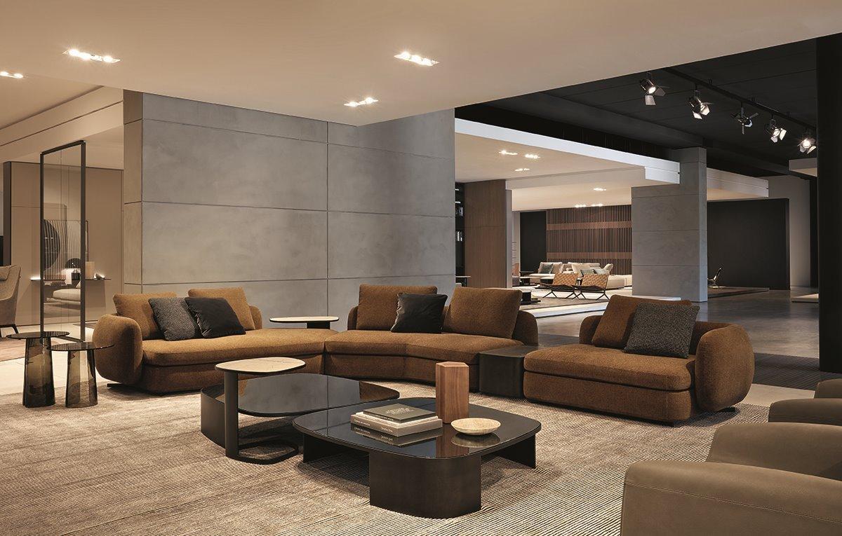Итальянский диван, модульный диван, угловой диван купить, Poliform Saint-Germain, диваны Италия