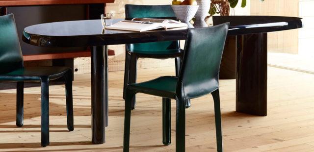 Кожаные стулья Cab от Марио Беллини. История иконы дизайна
