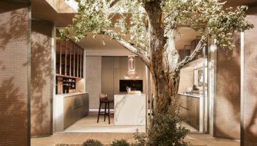 Новый кухонный гарнитур Alea Pro от итальянского бренда Poliform