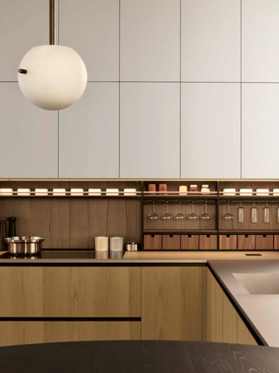Кухня Poliform Alea Pro, кухни из Италии, кухни под заказ
