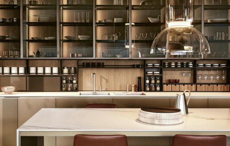 Кухня Poliform Alea Pro, кухонный гарнитур,кухни из Италии, кухни под заказ